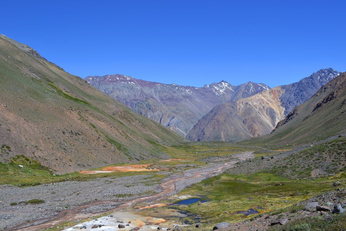 Trekking a través de los Andes