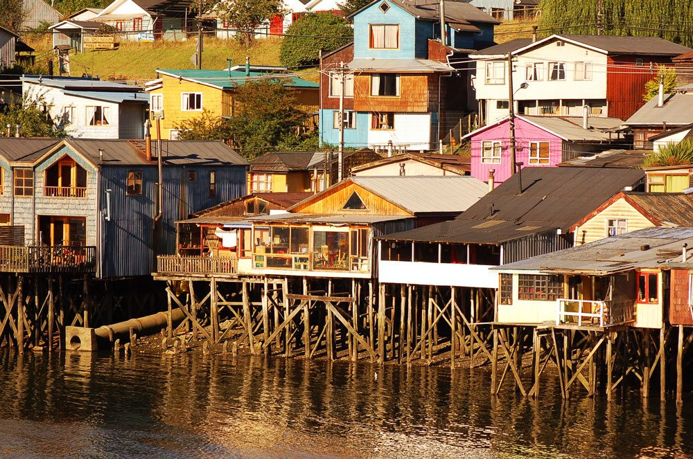 Immersed at the big Island of Chiloé