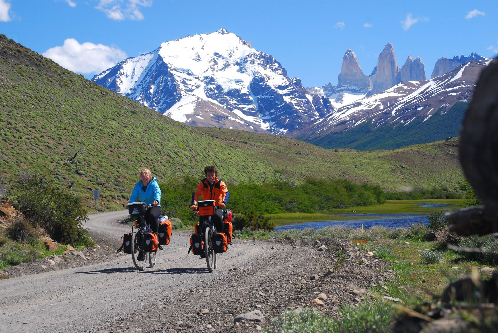 Bicycle tours patagonia ecochile