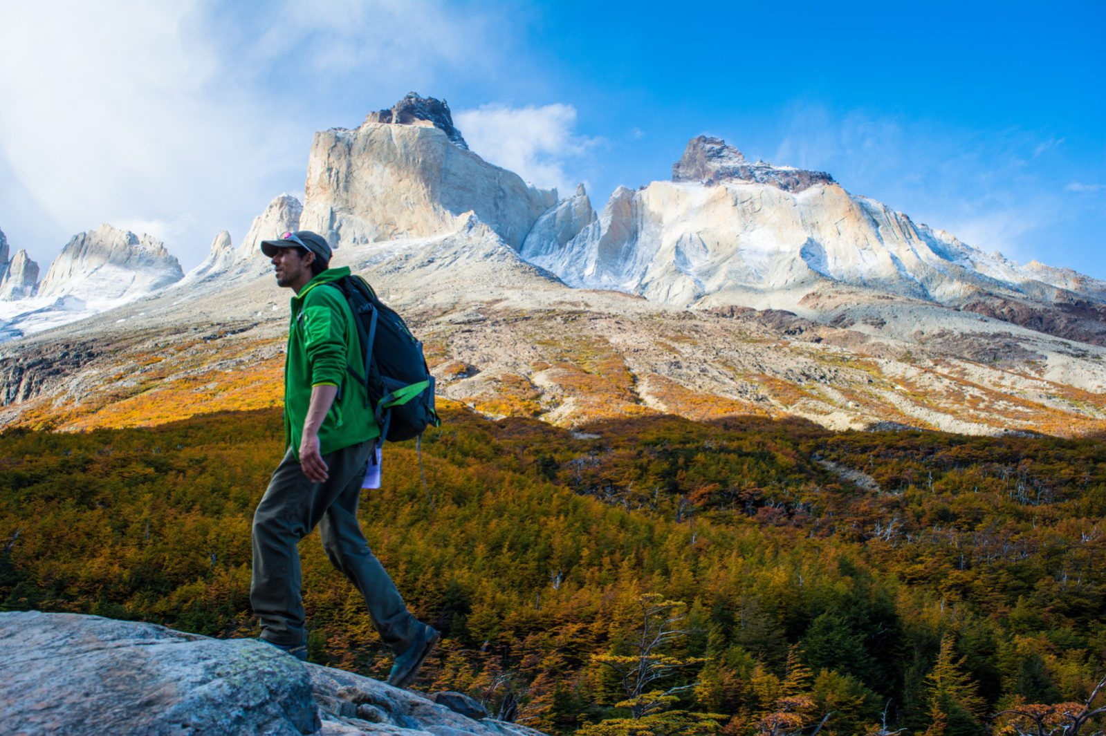 The Paine Massif's Heart: Valle Frances