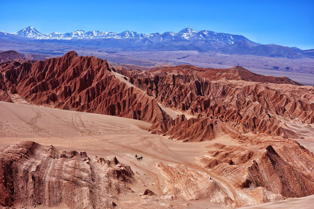 Arrival Atacama Desert