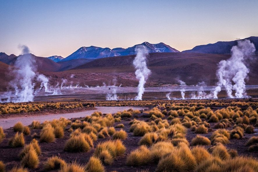 Tatio Geysers, Machuca Village & Moon Valley