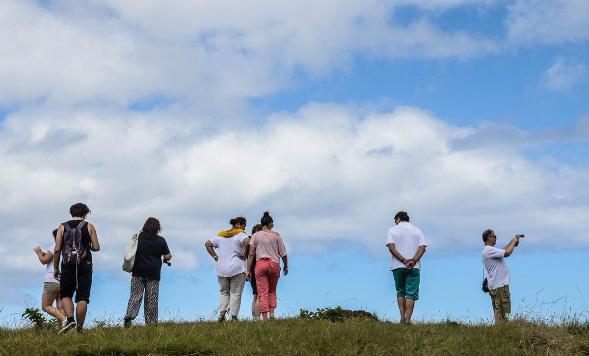 Easter Island to Santiago