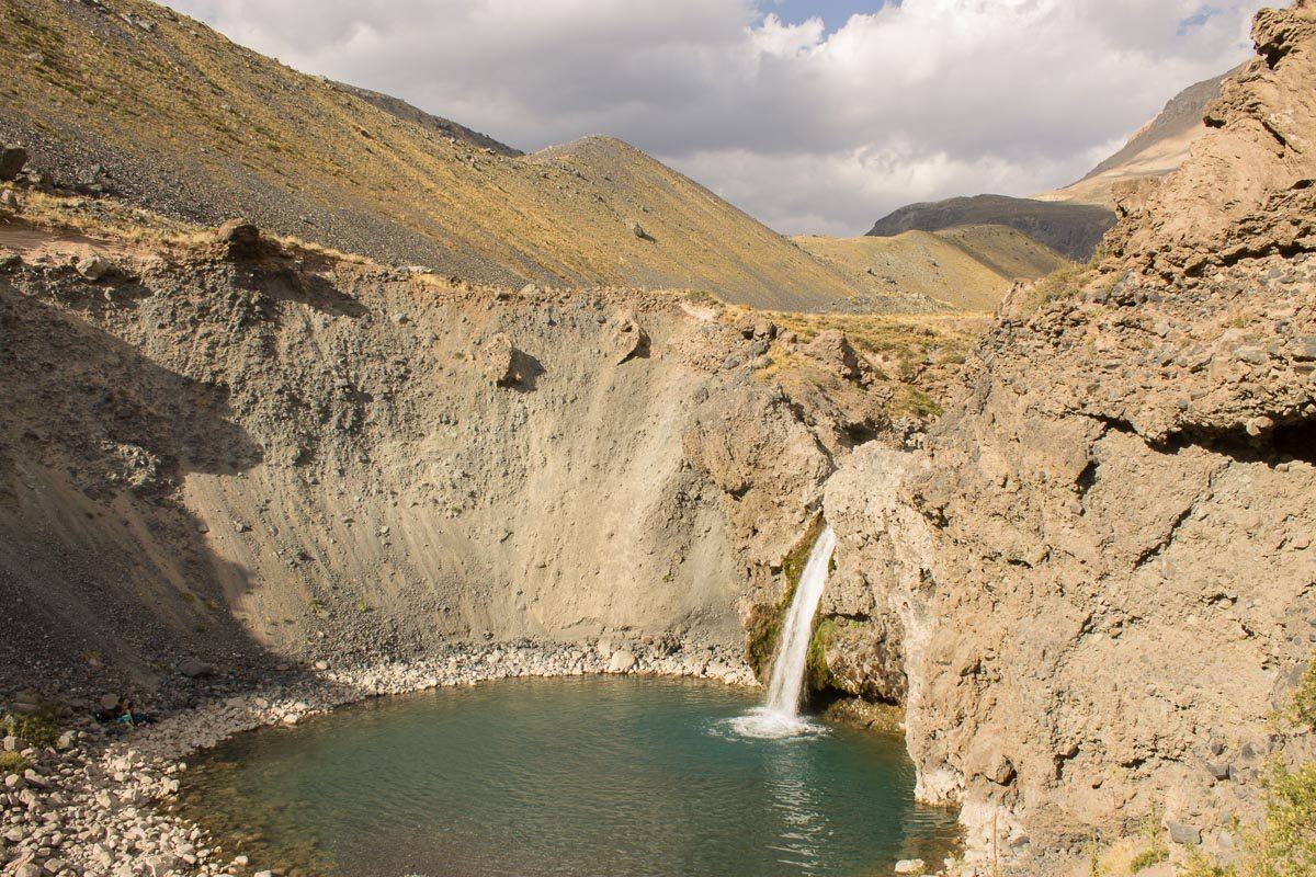 Reserva del Yeso / Trekking Laguna de los Patos / Termas del Plomo / Cascadas del Yeso