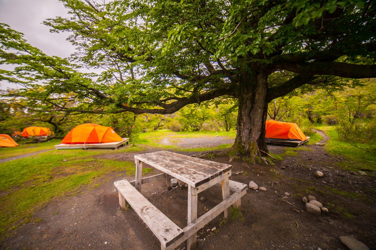 Circuito W Torres Del Paine Camping : Circuito w invernal torres del paine ecochile